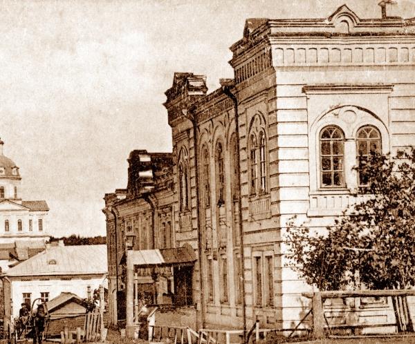 Дом П. В. Алцыбеева